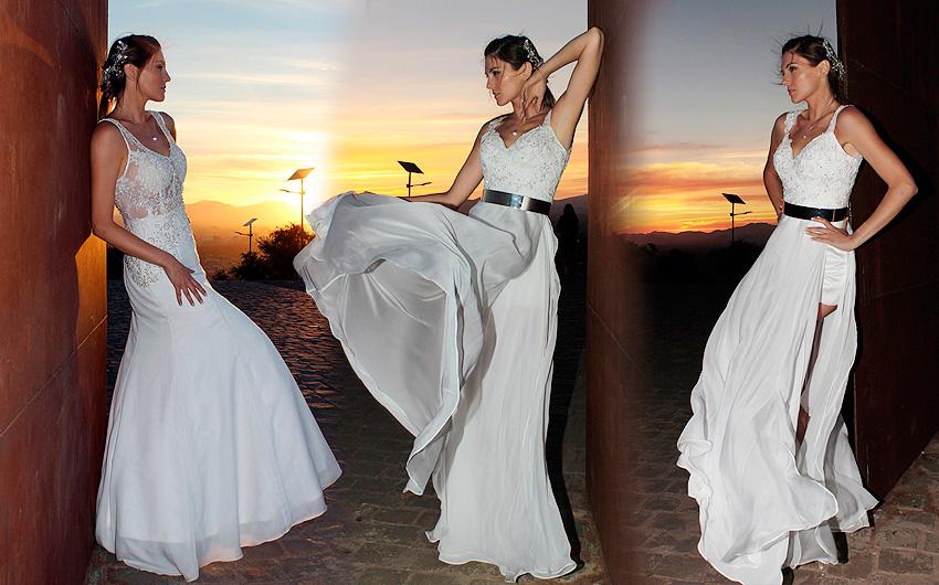 Vestidos de novia playeros en chile