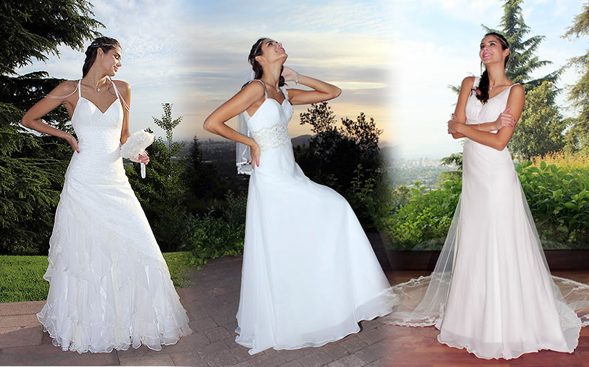 Arriendo de vestidos de novia economicos en santiago